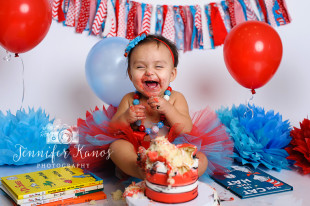 adorable cake smash photos