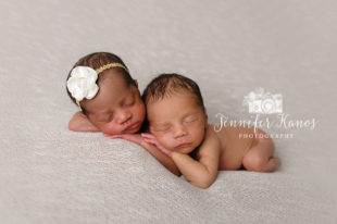 Rancho Cucmaonga Newborn Twins Photographer